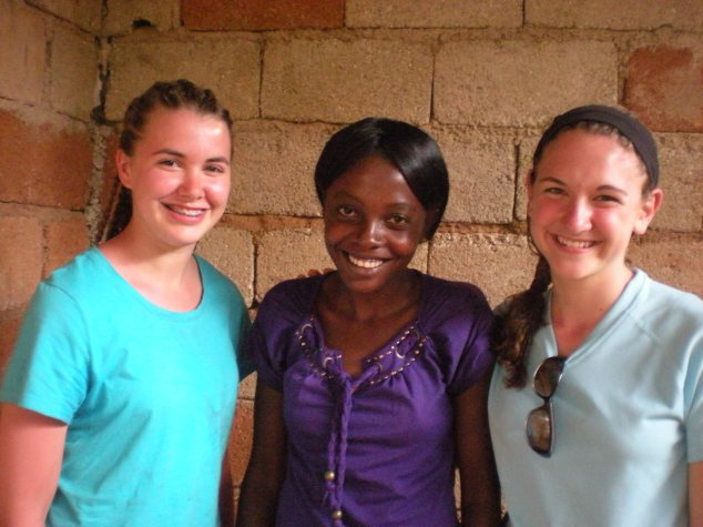 Staci, Haitian lady that braided their hair, Mindy