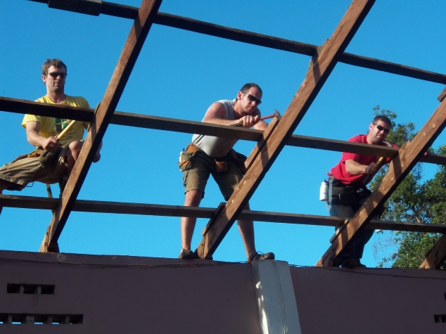Norm, Lane, and Brady