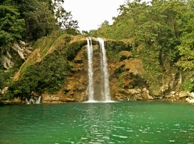 After we arrived back at the compound, we also took an afternoon to hike around these beautiful falls.  Haiti has so many beautiful places to offer!