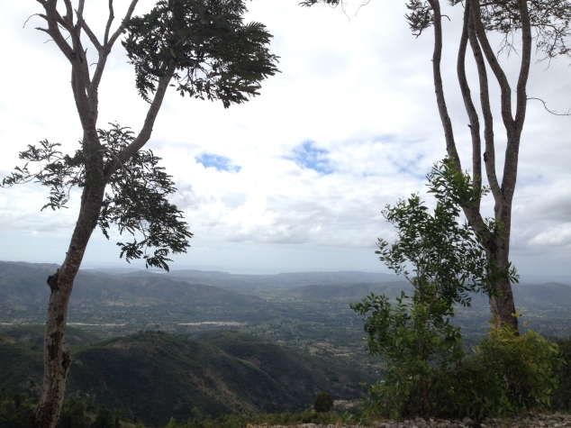 On Monday we packed up early and set out for the next job a few hours down the road.  The views were breath taking!